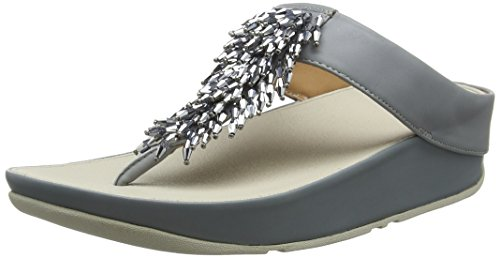 Fitflop Rumba TM Toe-Thong Sandals Crystal