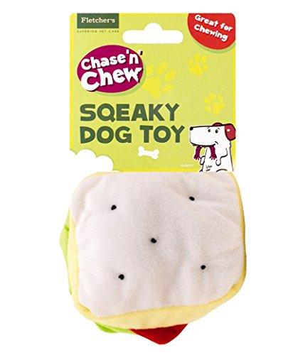 Beaucoup Shop en peluche couineur à mâcher en forme de Fast Food Chien en peluche jouet pour chiot Jeu Bundle