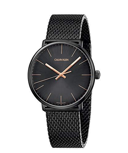 Calvin Klein Reloj Analógico-Digital para Unisex Adultos de Cuarzo con Correa en Acero Inoxidable K8M21421