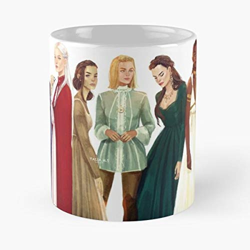 J Manon Fan Beak Book Sarah Books Fantasy Fireheart Art Witch Aelin Black Maas Far Best 11 Ounce Ceramic Coffee Mug Best 11 oz Kaffeebecher - Nespresso Tassen Kaffee Motive !
