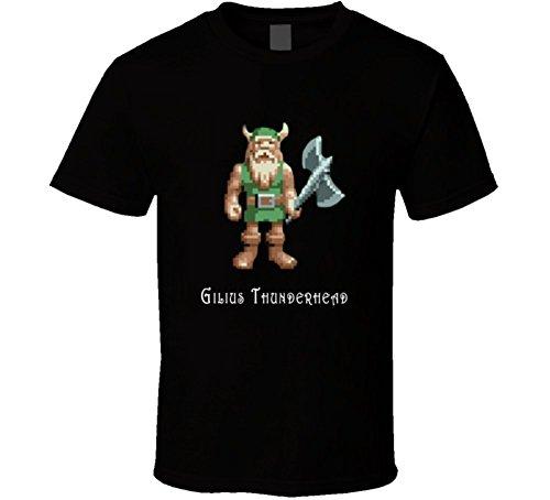 Gilius Thunderhead Golden Axe Video Game T Shirt XL Black
