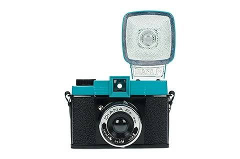 diana F+ camera with flash by lomo