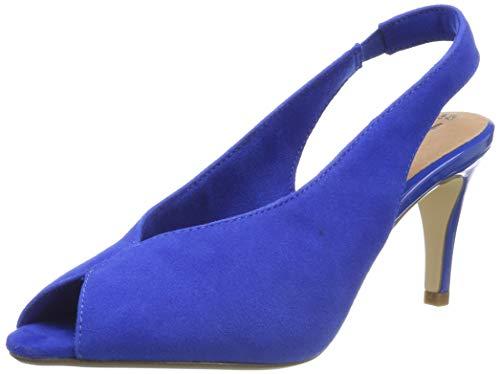 Tamaris Damen 1-1-29614-32 838 Slingback Ballerinas Blau (Royal 838), 38 EU