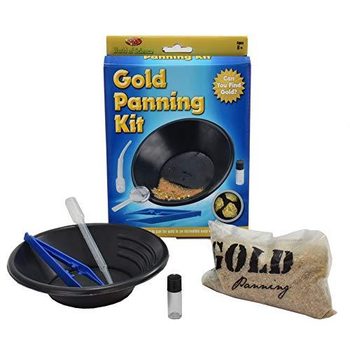 Goldwaschen Kit Set Bergbau Kinder Kinder Jungen Erziehungswissenschaft DIY Spielzeug Set