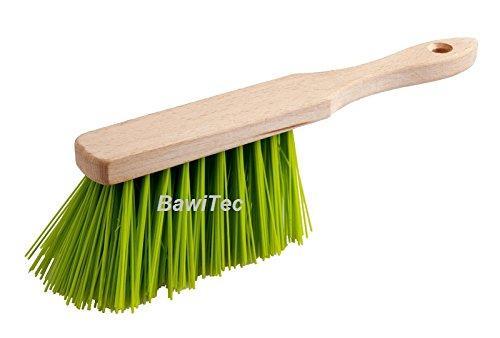 BawiTec Profi Handfeger Handbesen 28cm Elaston grün Garten neon Gartenbesen