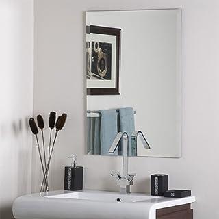 SDG Frameless Rectangular Bathroom Mirror