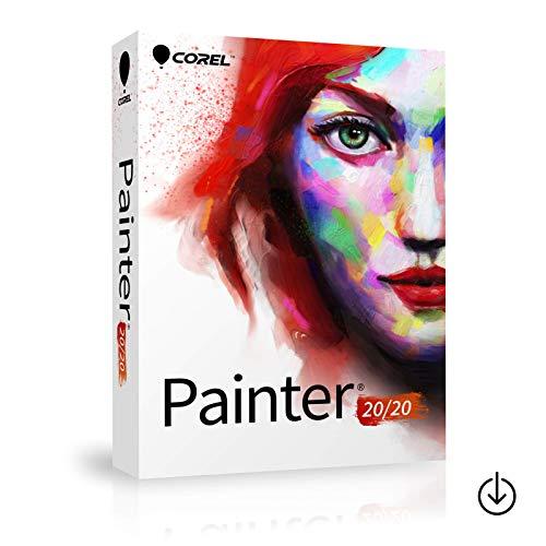 Corel Painter 2020|1Benutzer MAC oder WIN|Vollversion|Aktivierungscode per Post [Lizenz][KEINE CD][NO