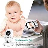 Zoom IMG-1 ghb baby monitor videocamera schermo