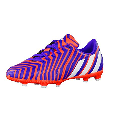 Adidas Predator Absolado Instinct FG J Kinder Fussballschuhe solar red-white-night flash 33