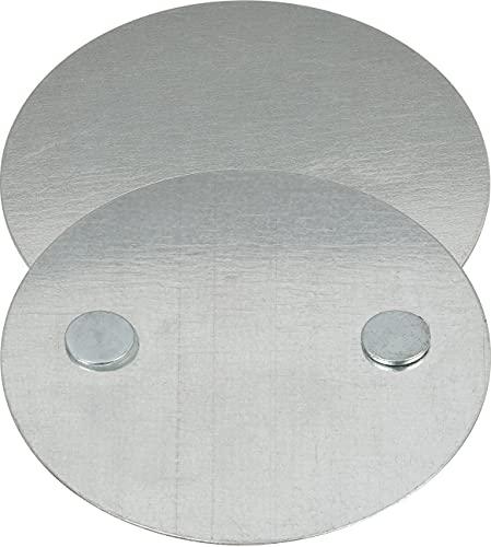 Brennenstuhl 1290000 Placa de Montaje Magnética, Blanco