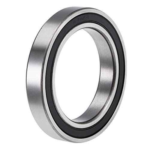 uxcell 6911-2RS Deep Groove Ball Bearings Z2 55mm x 80mm x 13mm Double Sealed Chrome Steel