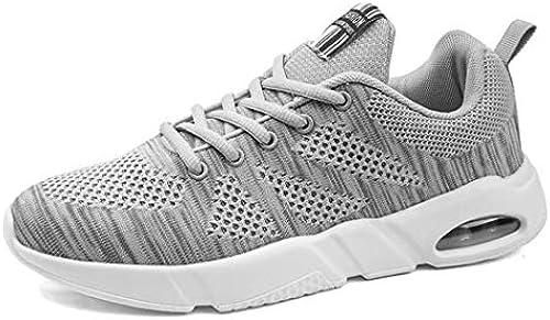 ZIXUAP 2019 Spring Mesh Men es Schuhe Fly Woven Shock Absorption Rutschfeste Wear-resistente Kissen-Running Schuhe Breathable Sportschuhe