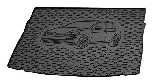 Gummi Kofferraummatte mit Fahrzeug-Motiv in fahrzeugspezifischer Passform AZ31000045