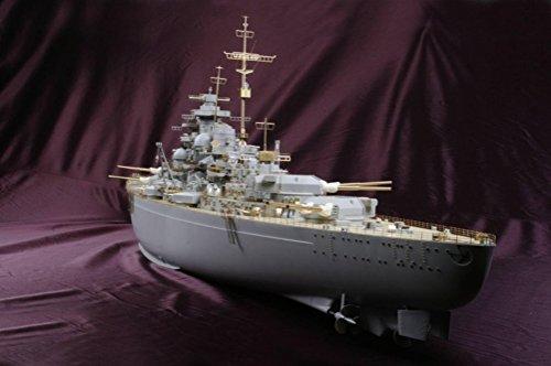 MK.1 Design Modellino in scala 1:200 Bismarck, modellino Super DX Trumpeter super dettagliato