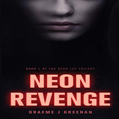 Neon Revenge audiobook cover art