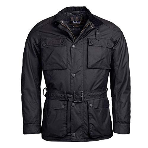 Barbour Giacca Moto Cerata International Blackwell Wax Jacket