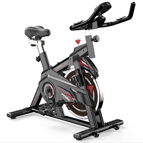 Bicicleta estática con resistencia magnética, capacidad de peso de 350 libras, bicicleta de ciclismo para uso doméstico por hombres, mujeres y personas mayores