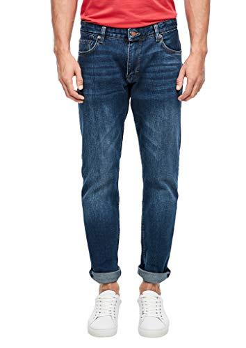 s.Oliver Herren 03.899.71.5279 Straight Jeans, Blue, W38 (Herstellergröße: 38/34)