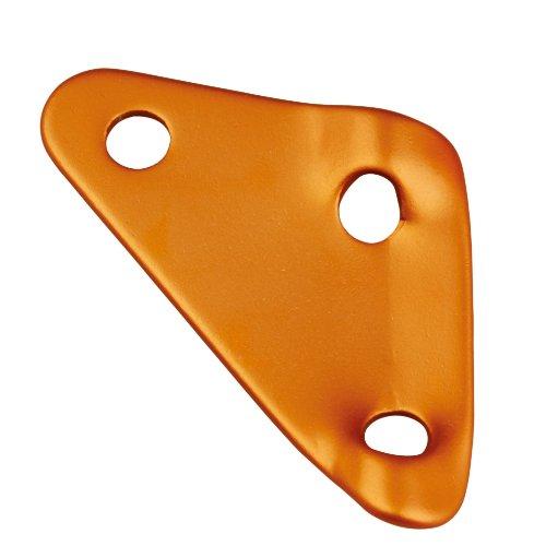 AceCamp Dreilochspanner, Zeltleinenspanner, Zeltzubehör, Alu-Spanner, Seilspanner, 10 Stück, Orange, 9117