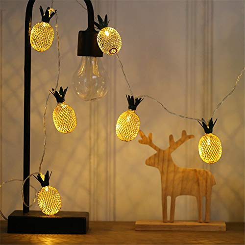 DC CLOUD Luces Decorativas Guirnalda De Luces Luces de Hadas para Dormitorio Luces de Hadas para niñas Luces de Cadena Led alimentadas por batería 3m