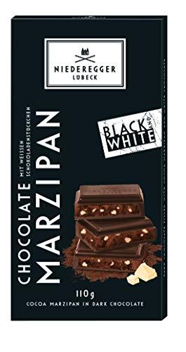 Niederegger Marzipan Tafel Black & White, 110 g