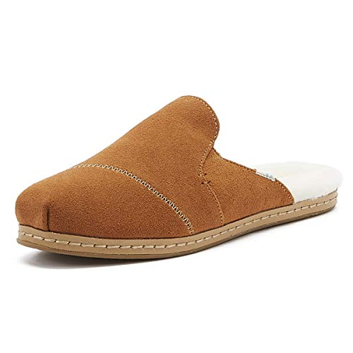 TOMS Women Nova Leather Wrap, Zapatillas para Mujer, Marrón (Carmel Brown 000), 36.5 EU