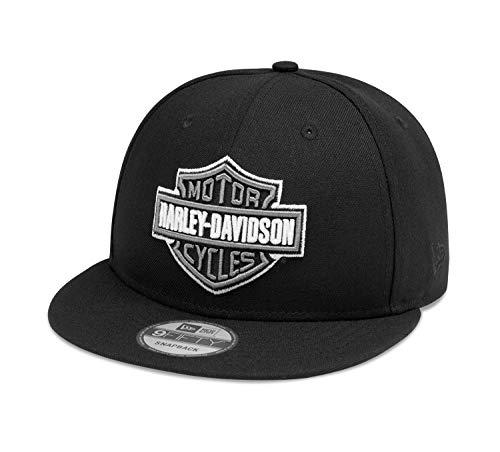 HARLEY-DAVIDSON Herren Baseballmütze Kappe Kontrastmotiv Logo Variable Passform