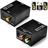 High Trusted IT® Digital to Analogue L/R Stereo Audio Converter with AC Power