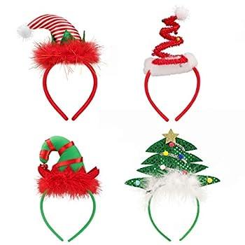christmas headbands for adults