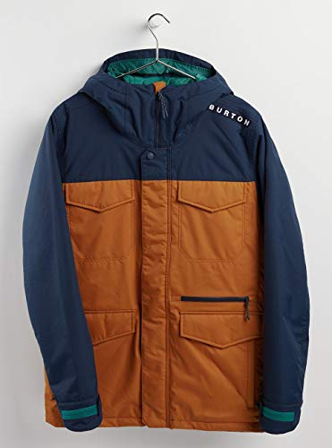 Burton Herren Snowboard Jacke Covert, Dress Blue/True Penny, L, 13065106400
