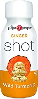 THE GINGER PEOPLE Ginger Rescue Ginger Shot Wild Turmeric, 1 x 60 ml