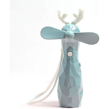 HUI JIN Mini ventilateur portable brumisateur humidificateur de refroidissement rechargeable par USB avec pulvérisateur d'eau pour voyage/camping/extérieur