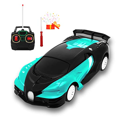 BestGK RC Cars Toys for Kids, Drift Remote Control Car, High Speed Super Vehicle, RC Race Crawler Car Toy, Best Happy New Year Birthday Gifts for Boys Girls Cyan