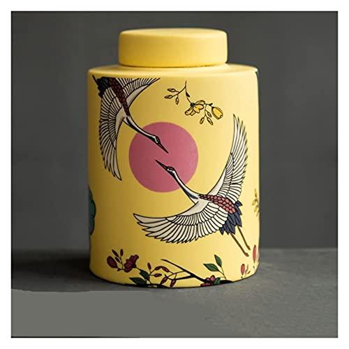 Urnas de cremação para cinzas Urna de cremação para cinzas, pequena lembrança de cerâmica artesanal, feita em cerâmica Exiba enterro em casa ou em um nicho em Columbarium (7,5 * 10,5 cm) urna de cinz