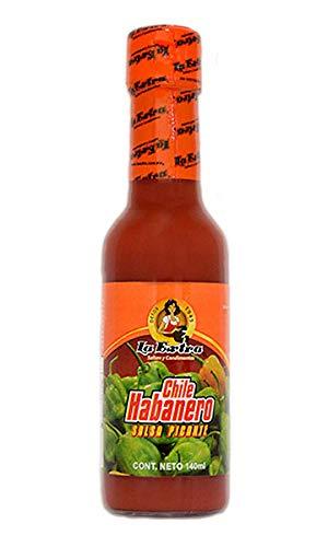 Salsa Rioja de Chile Habanero (Rote Chilisauce) - La Extra, 140g