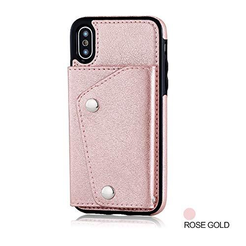 Diligencer PU Abnehmbare Iphone Case Geldbörse Für Frauen (Iphone Case All Series)