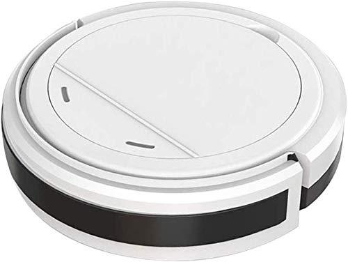 8bayfa CNCBT Smart-Home-Maschine Staubsauger, Einknopf startet Anti-Kollisions-Absturzschutz Schlanke Figur Geräuscharm Design, Geeignet for Fliesen Marmor