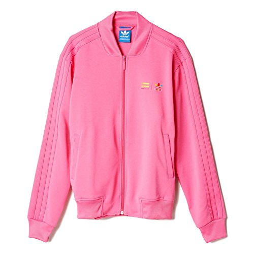 Track Top adidas – Mono Color Superstar Rosa Semi Solar XXS