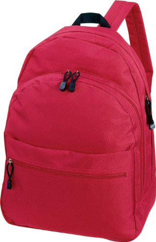 CENTRIX 'TREND' RUCKSACK BACKPACK - 11 GREAT COLOURS (RED)