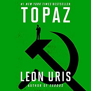 Topaz audiobook cover art