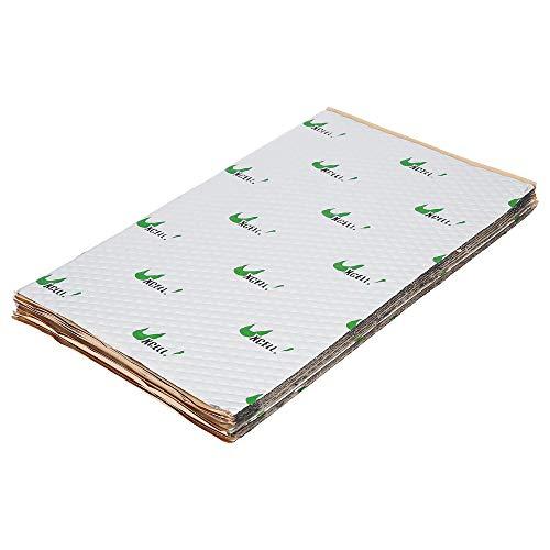 uxcell 10pcs 80mil 10.5sqft Car Sound Deadener Heat Insulation Mat Pad...