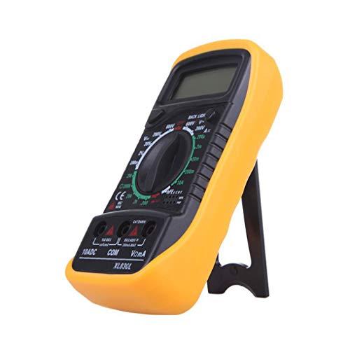 zhibeisai LCD multímetro Digital XL830L Prueba Tester Volt eléctrico portátil ohmímetro del amperímetro del voltímetro