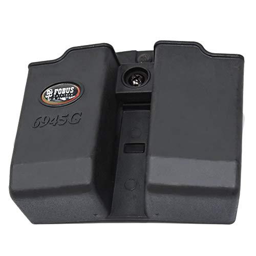Fobus Evolution for .45 Double Stack - Funda para revistas de doble pila compatible con Glock, cinturón ambidiestro (6945GNDBH)