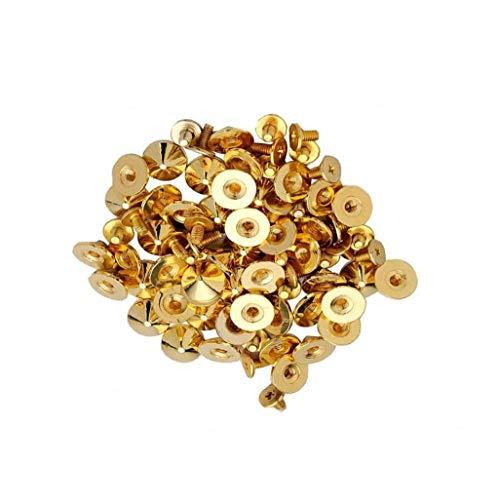 100pcs Nail Art Décor Mode Rivet style Or Minis nail art Bijoux pour Nail Art bricolage Décor