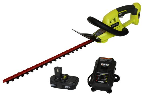 Factory-Reconditioned Ryobi ZRP2603 ONE Plus 18V Cordless 18-in Hedge Trimmer (Tool Only)