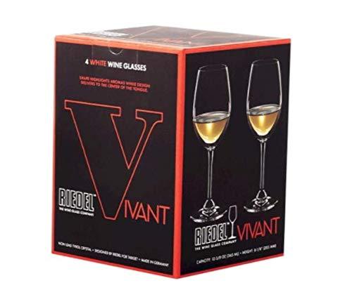Riedel Vivant White Wine Glasses Set of 4