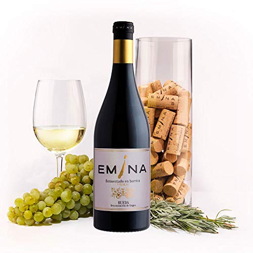 EMINA vino blanco Verdejo fermentado en barrica 2017. 1 Ud. de 75 cl.