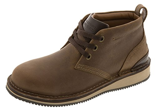 Rockport mens Prestige Point Work Safety Toe Lace-up Chukka industrial and construction boots, Brown, 10.5 Wide US