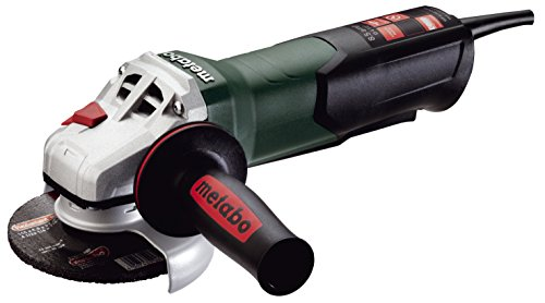 """Metabo- 4.5"""" Angle Grinder - 10, 500 Rpm - 8.5 Amp W/Non-Lock Paddle (600380420 9-115 Quick), Professional Angle Grinders"""