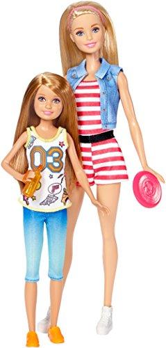 Barbie Pack de 2 Muñecas, Barbie con su Hermana Stacey (Mattel DWJ64)